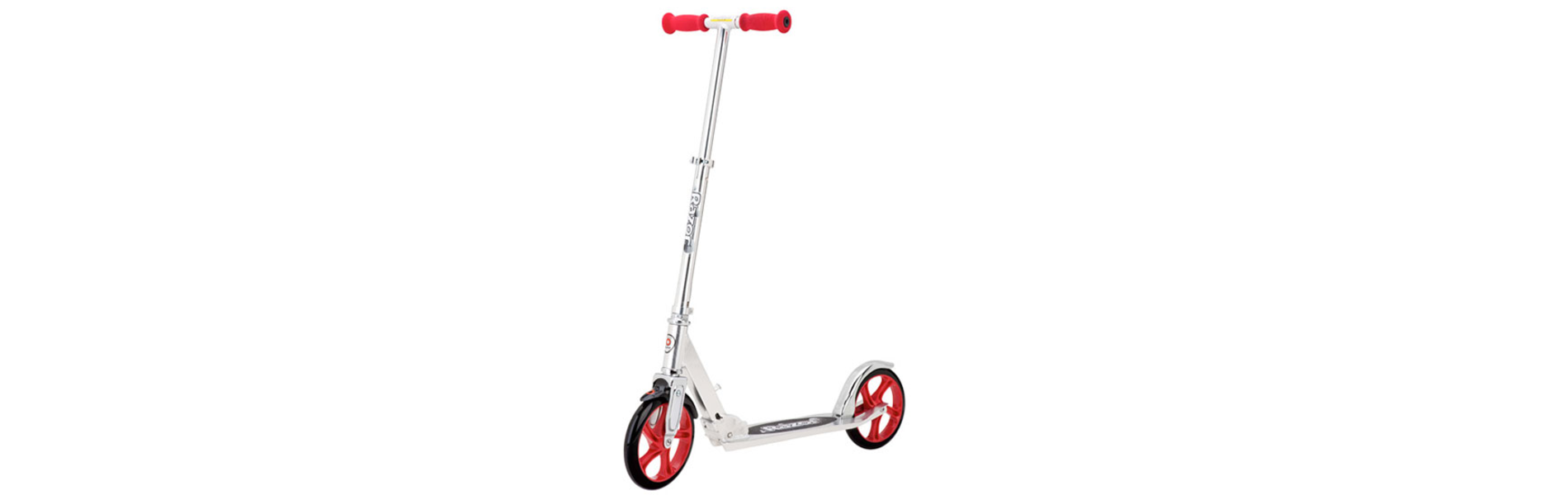 A5 LUX SCOOTER - SILVER