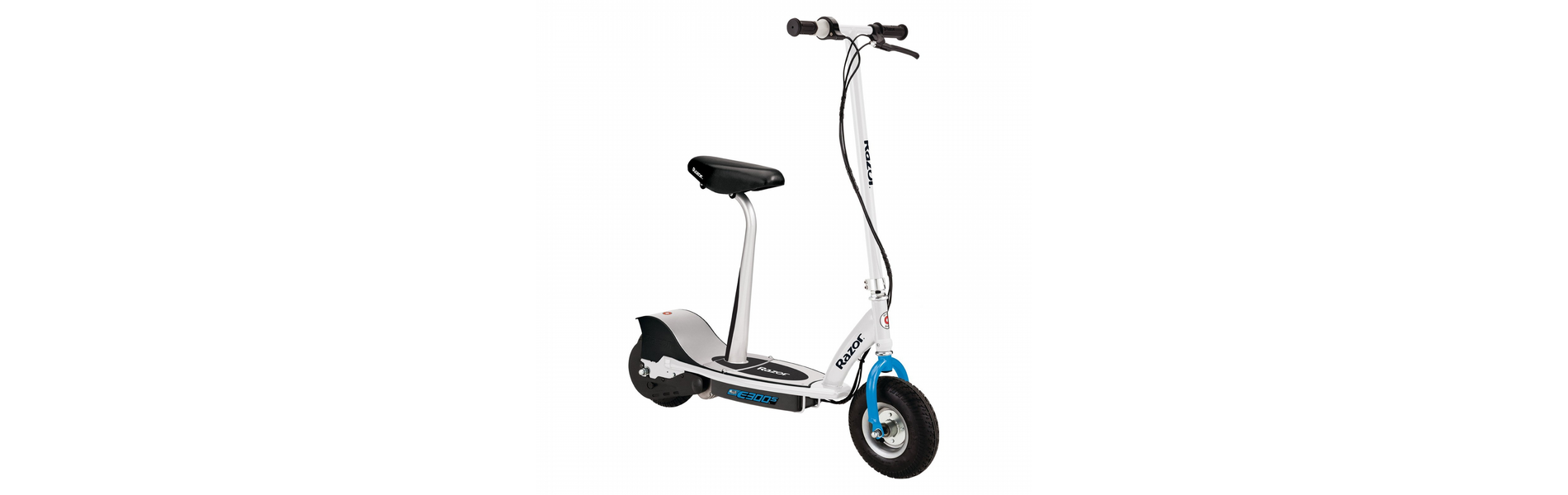 E300S ELECTRIC SCOOTER WHITE/BLUE
